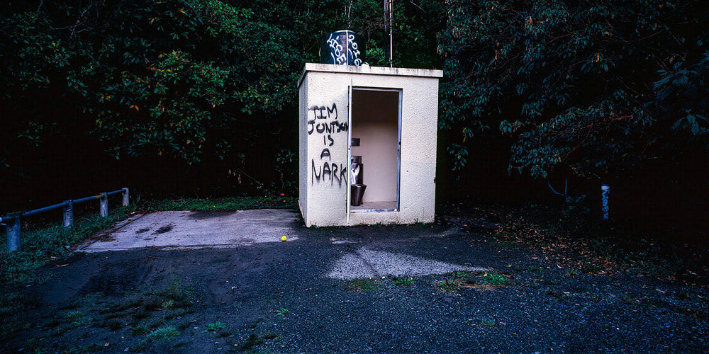 Dan Anbury, untitled nark, photos of Akatarawa Road, contemporary new Zealand photography, new Zealand landscape photography, contemporary fine art photograph, New Zealand contemporary photography, Photospace Gallery Wellington NZ, nark