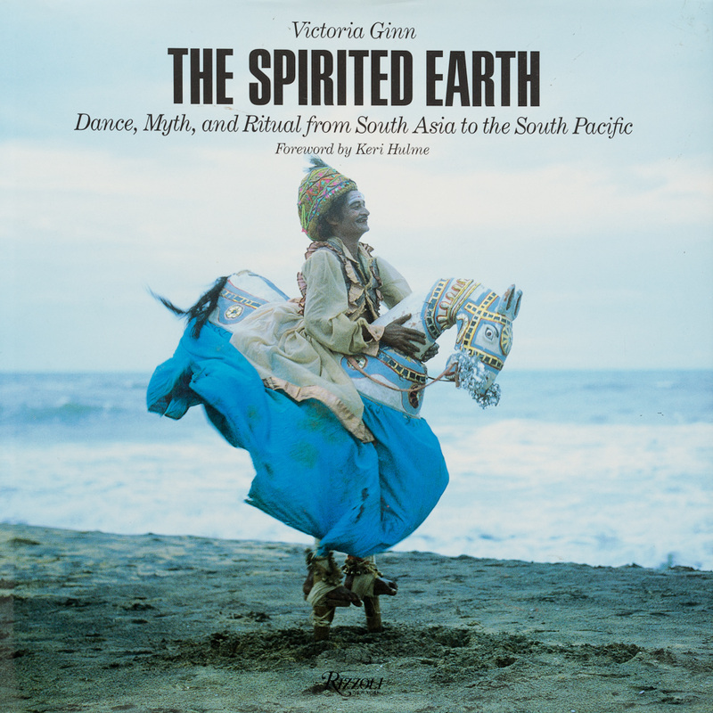 Cover image of 'The Spirited Earth' by Victoria Ginn, Pub. Rizzoli NY, 1990
