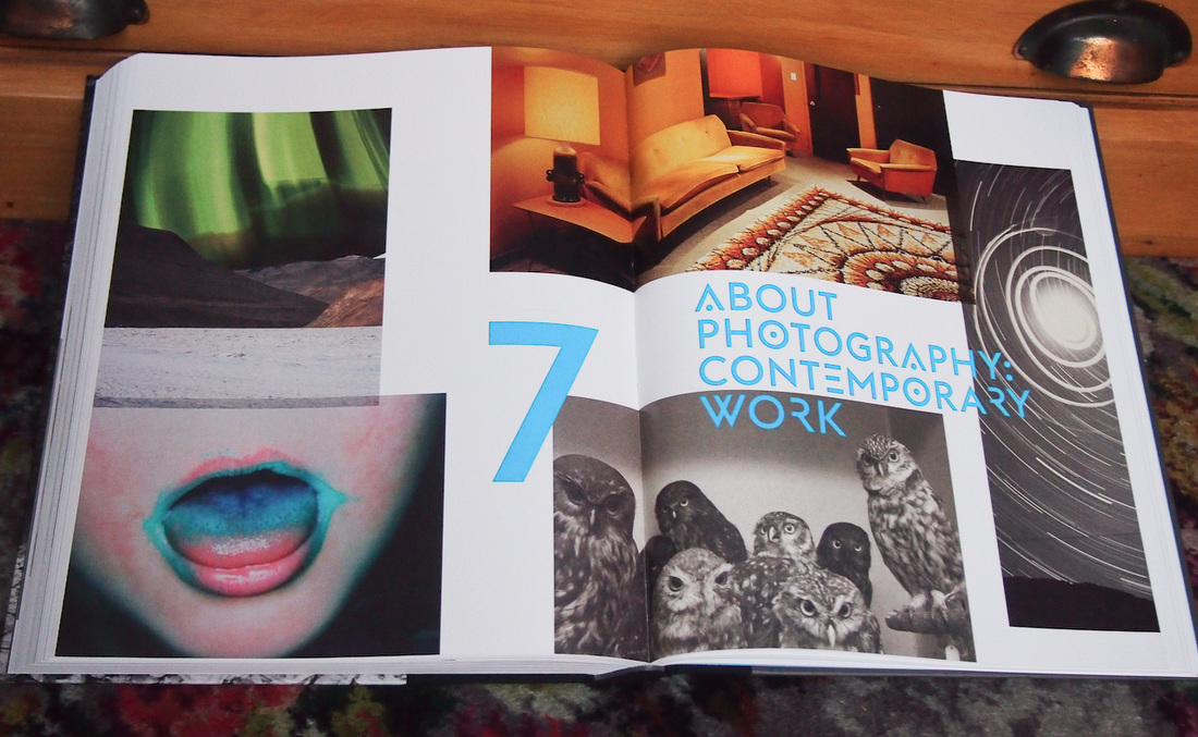 New Zealand Photography Collected, Chapter 7 title spread, photo by james Gilberd, Photospace Gallery book review