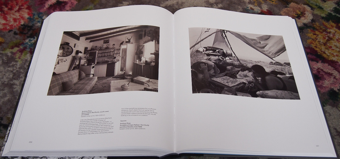 Pp 296-297 - Andrew Ross photos, New Zealand Photography Collected, Te Papa Press 2015, book review and photo by james Gilberd