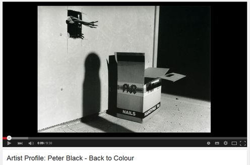 Video of Peter Black - photography, Back to Colour