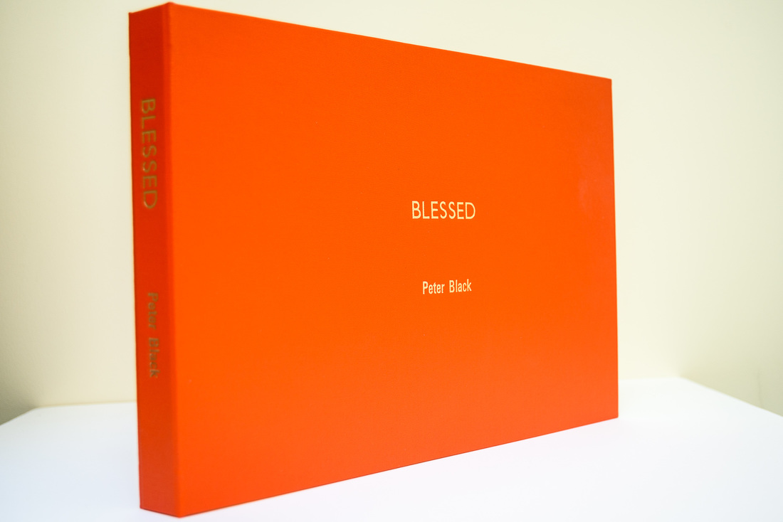 Photo of cover of 'Blessed' by Peter Black, Photospace Gallery Wellington New Zealand