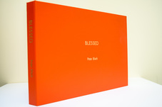 Cover of 'Blessed' book by Peter Black, available from Photospace Gallery Wellington New Zealand