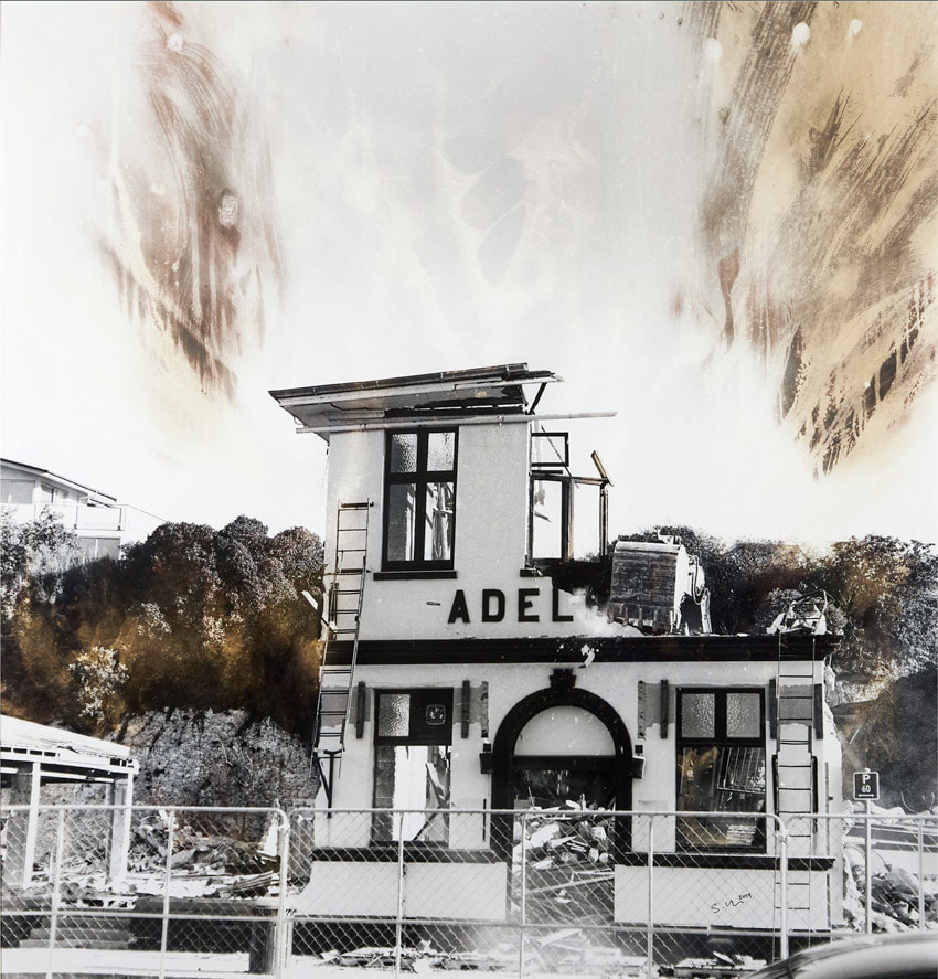 'Adelphi' by Susie Baker Kaikoura artist, Photospace Gallery contemporary New Zealand photography