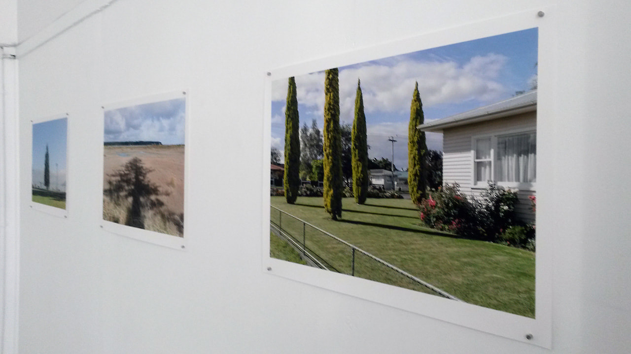 Photspace Gallery stockroom, Mary Macpherson Bent, new Zealand fine art photography