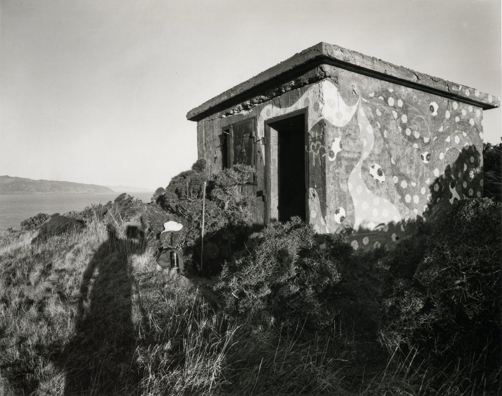 Andrew Ross - Bunker, Red Rocks, 6/5/2020, what I've done in the lockdown, silver gelatin large format photography, photography during the covid-19 lockdown in New Zealnd, Photospace Gallery contemporary New Zealand photography wellington nz, a month of sundays online exhibition, Levin Horowhenua during Covid-19 lockdown Alert Level 4