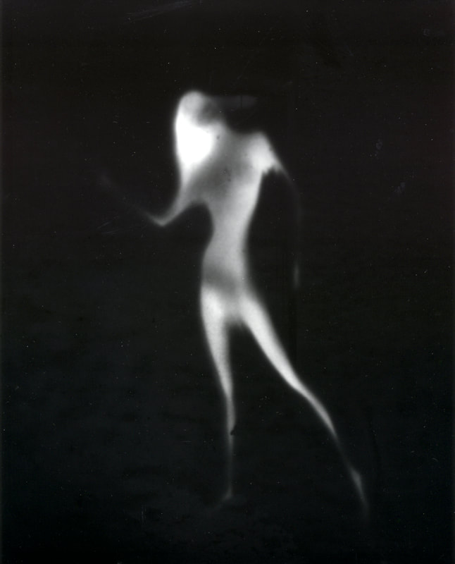 Heinz Sobiecki - Dance series, 2020. Unique print on positive paper from 1970s negative, Photospace Gallery Contemporary NZ Photography Wellington New Zealand