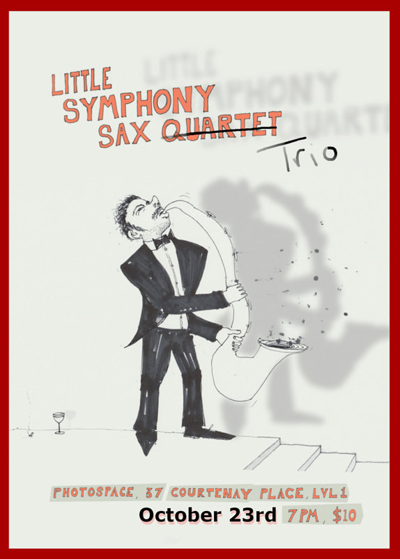 Little Symphony Sax Quartet perform at Photospace Gallery, 7pm Friday 23 october, 2020