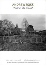 Andrew Ross Wellington photographer, photospace gallery contemporary new zealand photography, large format black and white photography, silver gelatin contact print from large format negative, new zealand fine art photography, wellington architectural history, historic homestead in Mastertom NZ