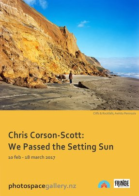 Chris Corson-Scott 'We Passed the Setting Sun', Photospace Gallery Wellington New Zealand
