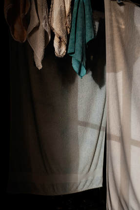 Lesley McConnell - 'Laundry II', from 'Facades', Photospace Gallery fine art photography, Wellington New Zealand