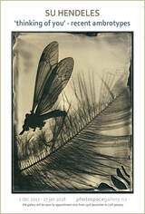 'thinking of you' ambrotypes by Su Hendeles, Whanganui photographic artist, photospace gallery contemporary new zealand photography wellington nz