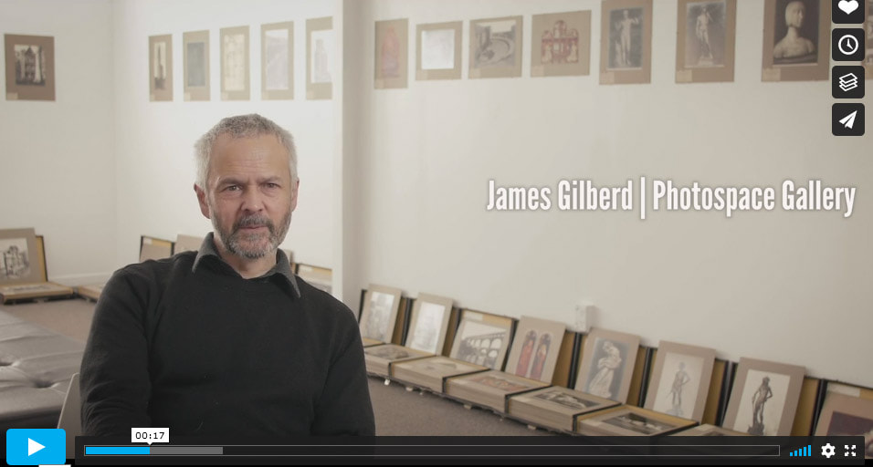 Link to Alinari exhibition video by Hans Weston Films, video interview with james Gilberd 2020, photospace gallery Alinari photo exhibition 2020, video of photospace gallery wellington new zealand